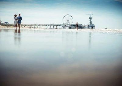 Trouwen op het strand van Scheveningen