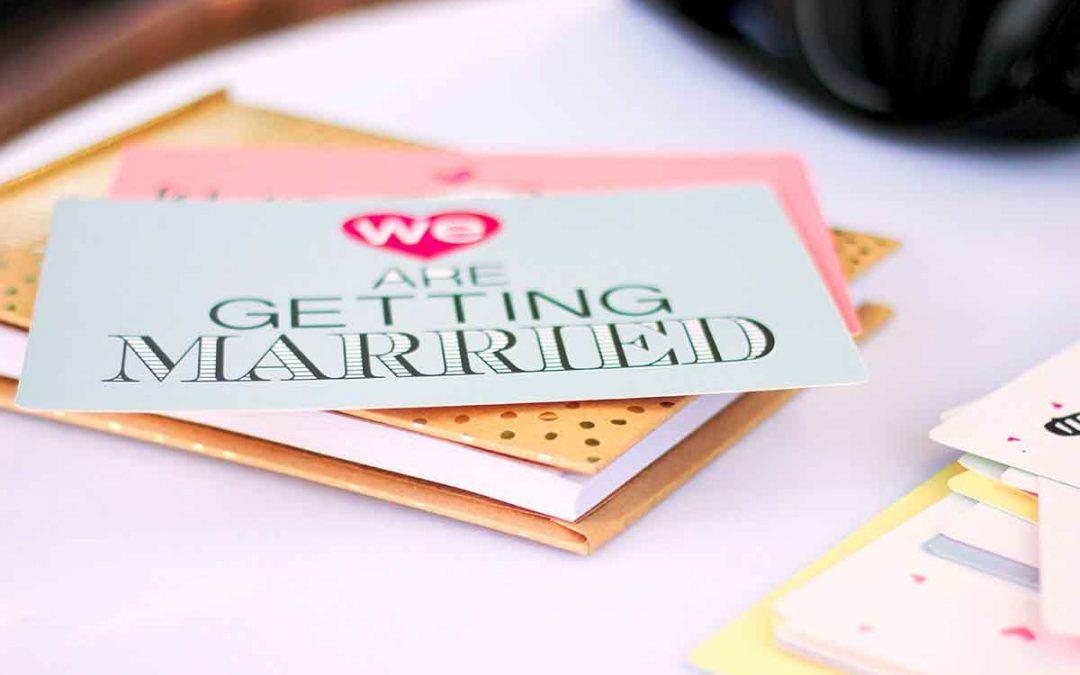 Uitnodigingen voor je huwelijk