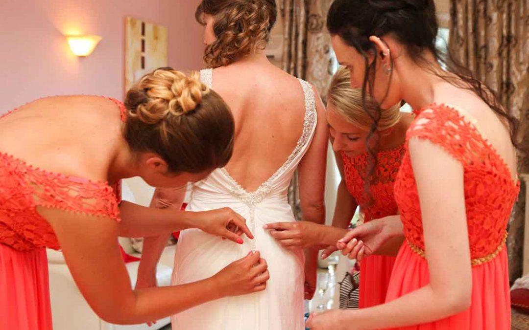 De rol van bruidsmeisjes tijdens het huwelijk