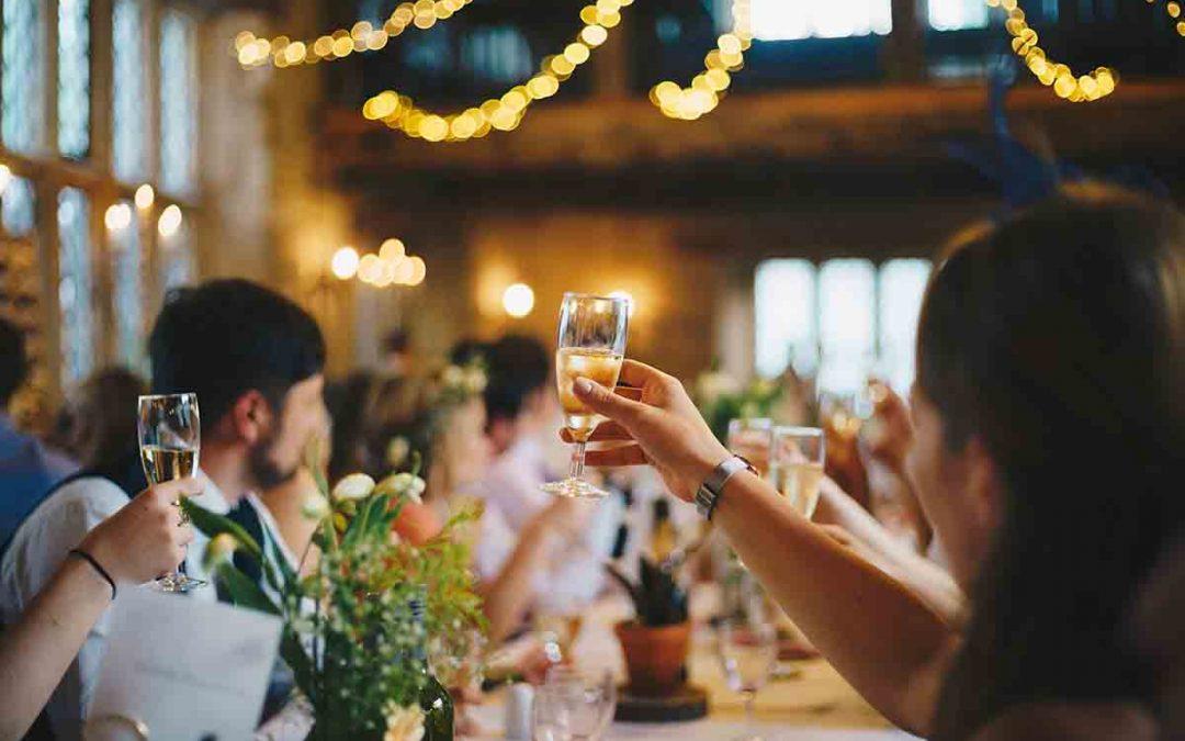 Stukje tijdens het diner op je bruiloft