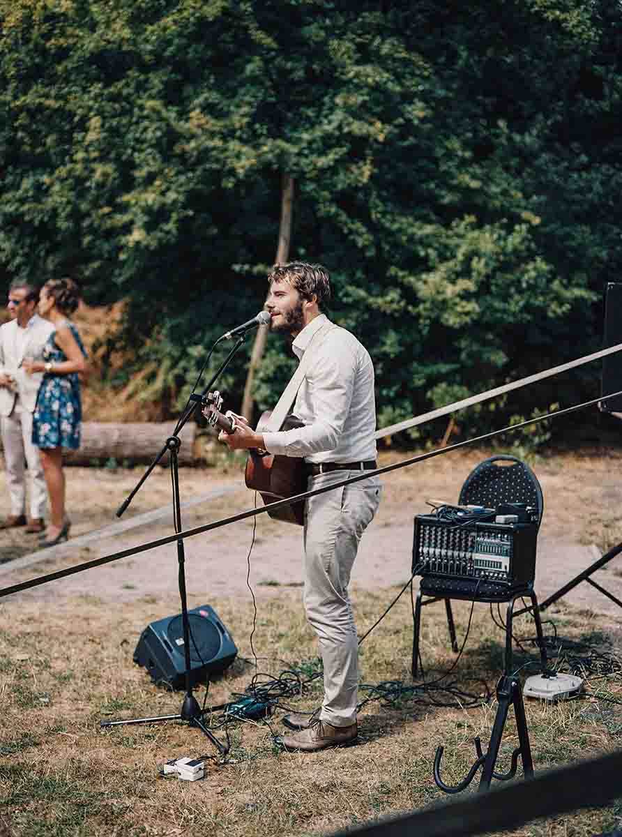 Livemuziek op je huwelijk