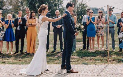 The first look: wanneer jullie elkaar voor het eerst zien op jullie bruiloft!