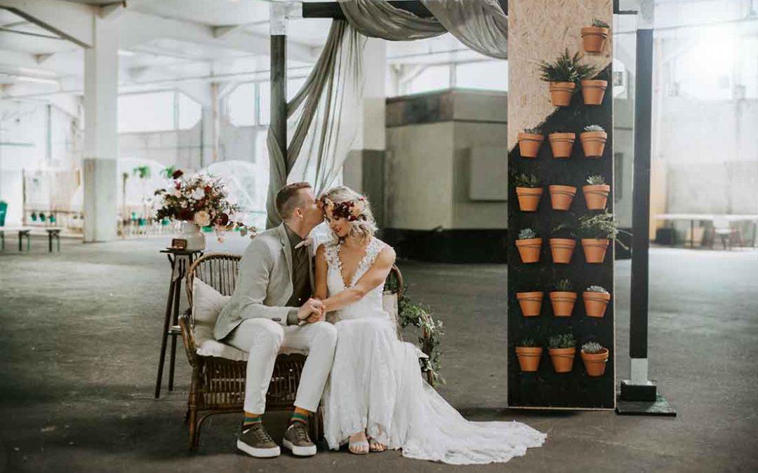 Inspiratie voor een backdrop op je bruiloft