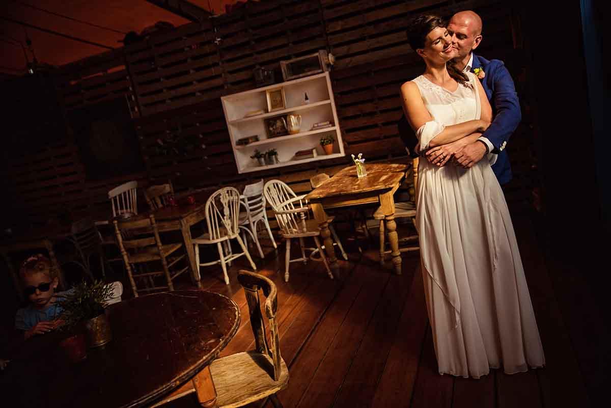 Bruiloft in vintage stijl