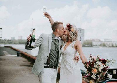 De bruiloft tot in de puntjes geregeld door een professioneel weddingplanner