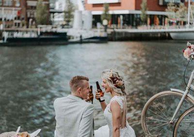 Stadse bruiloft met speciaalbier
