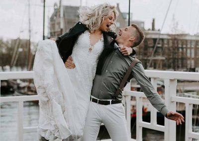 Hoera, we zijn getrouwd!
