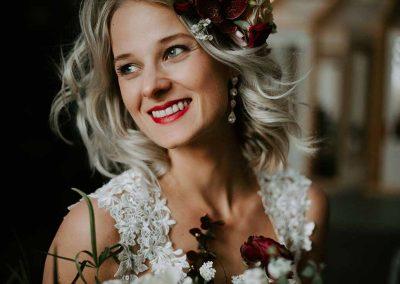 Een stralende bruid, het belangrijkste op een bruiloft
