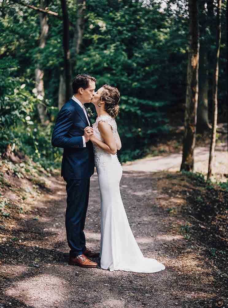Bruiloft met als thema Bos & Natuur