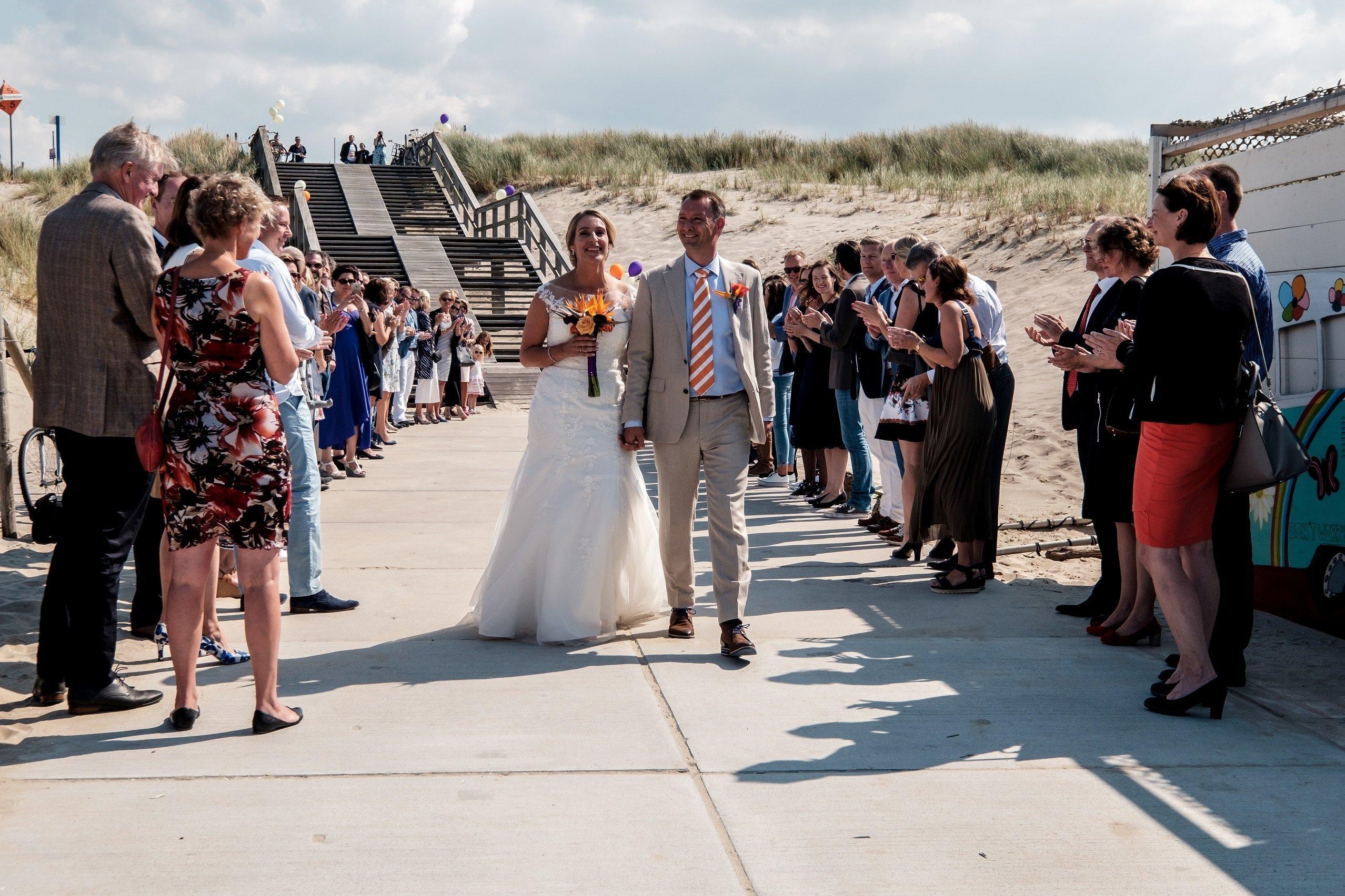 Huwelijk op het strand