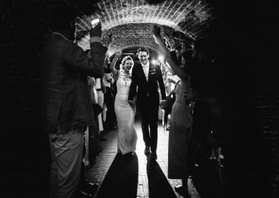 entree-bruidspaar-bruiloft