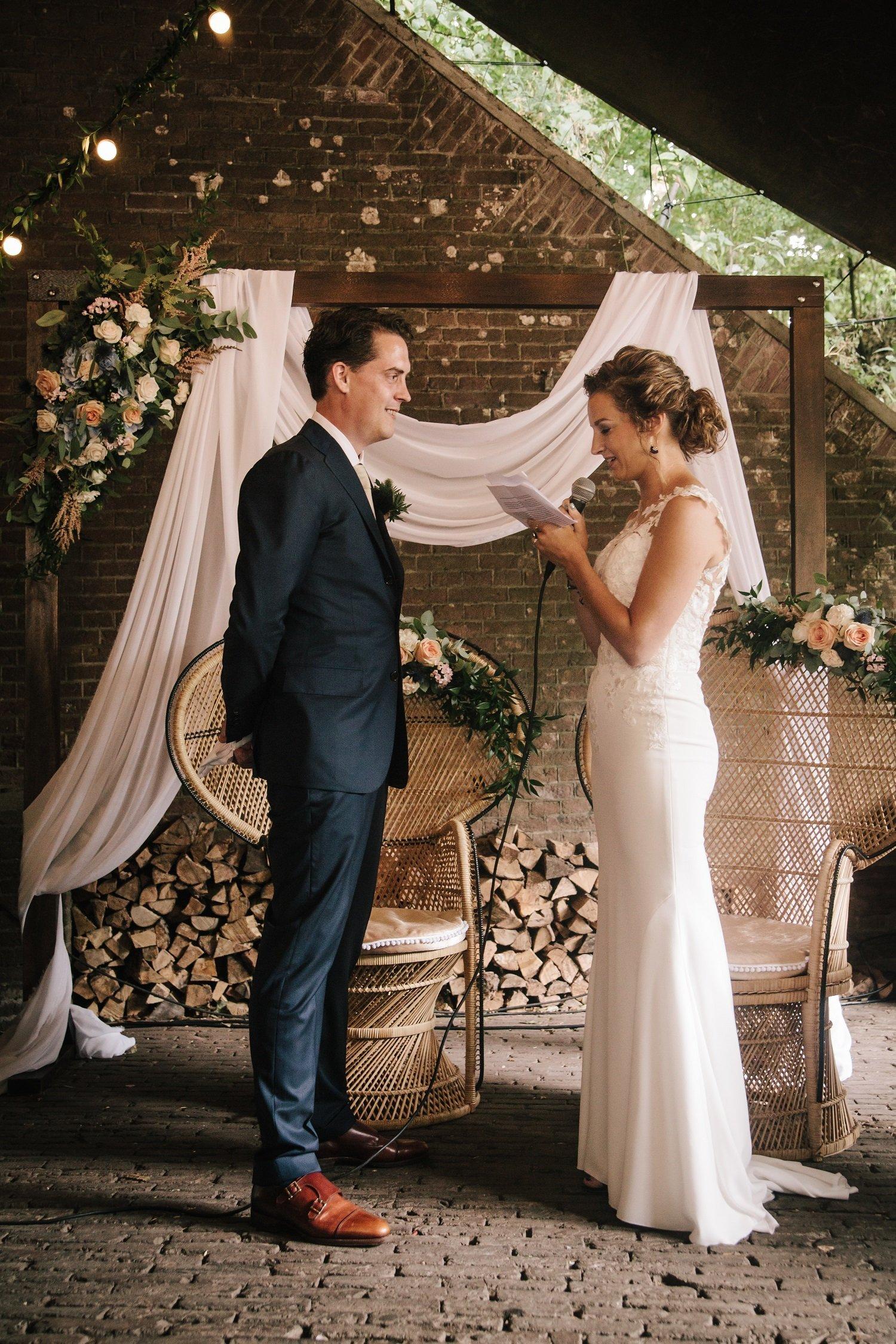 Geloften schrijven bruiloft