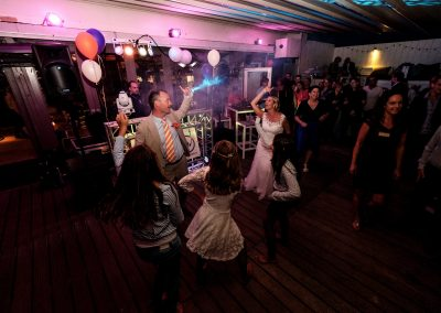 Dansen tijdens trouwfeest