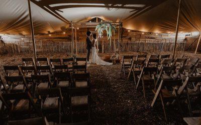Een hippe bruiloft met een natuurlijk tintje, een Bohemian Ranch Wedding