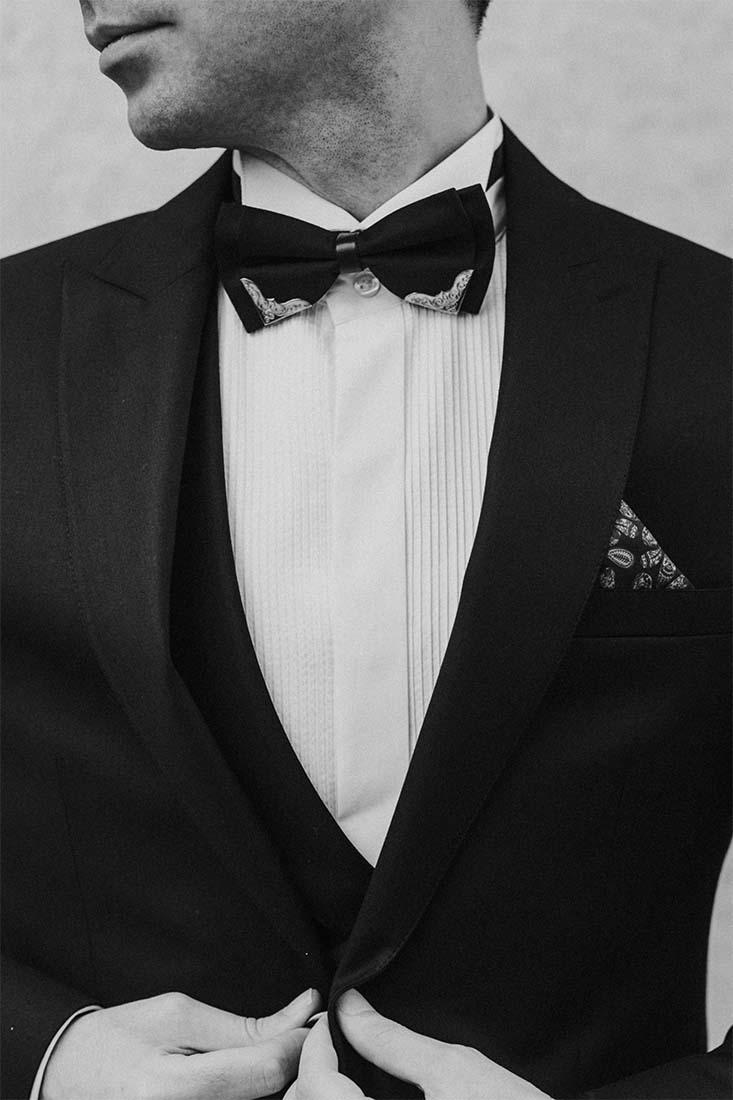 Dresscode Black Tie voor de heren op een bruiloft