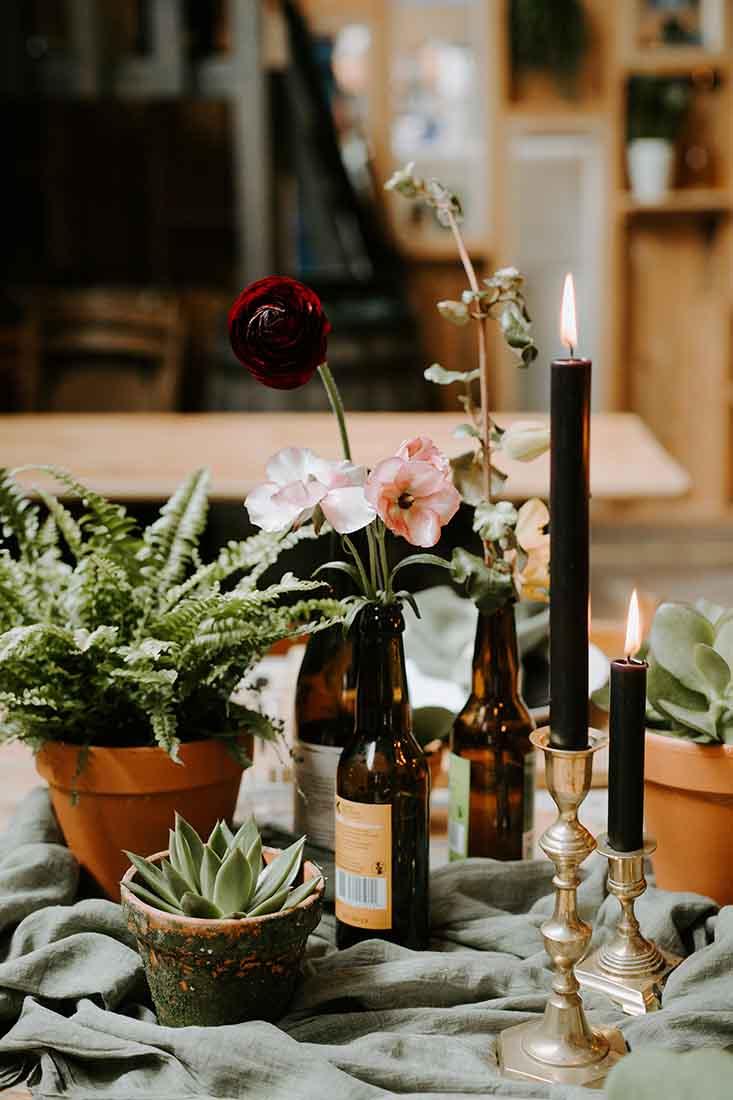 Stylist huren voor het decoreren van je bruiloft