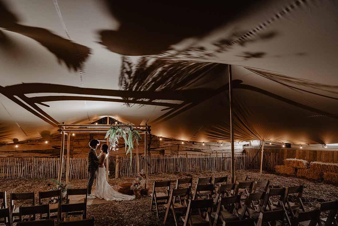 Trouwlocatie als uitgangspunt voor de bruiloft styling