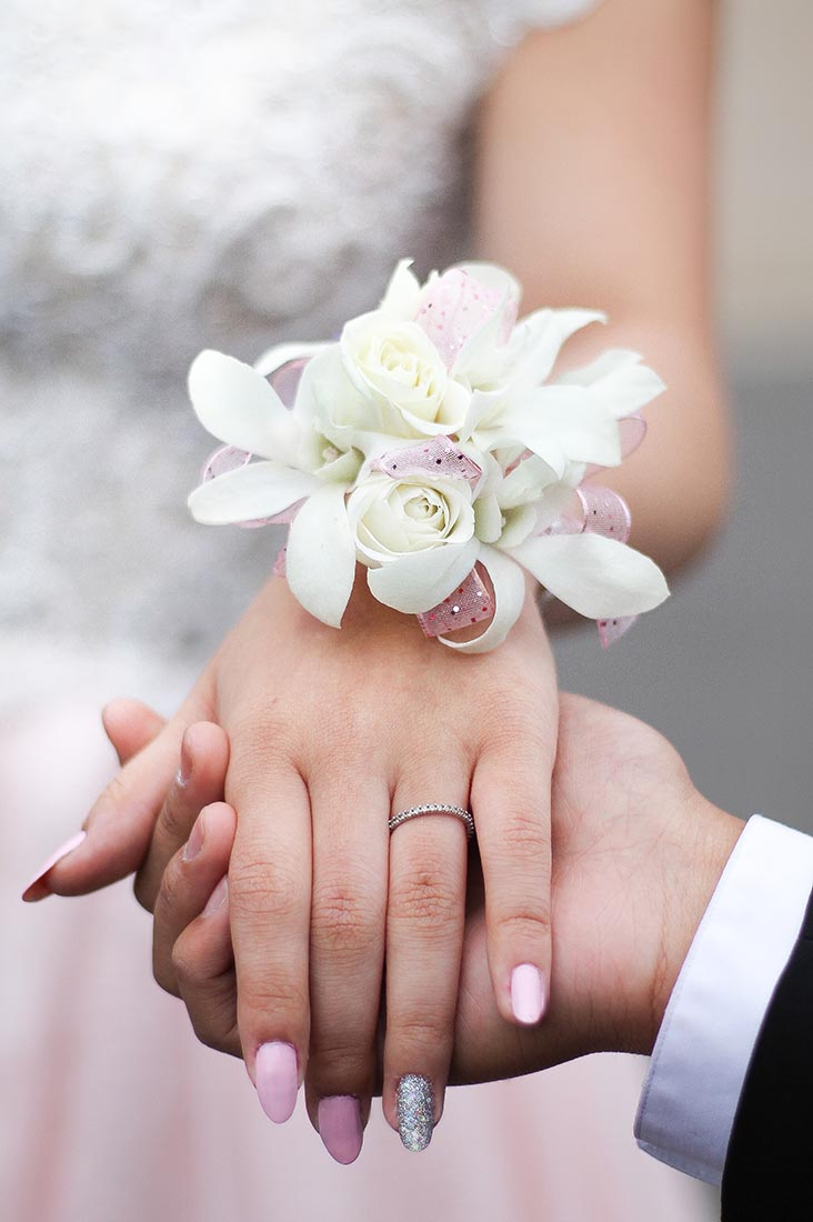 Polscorsage voor de bruid