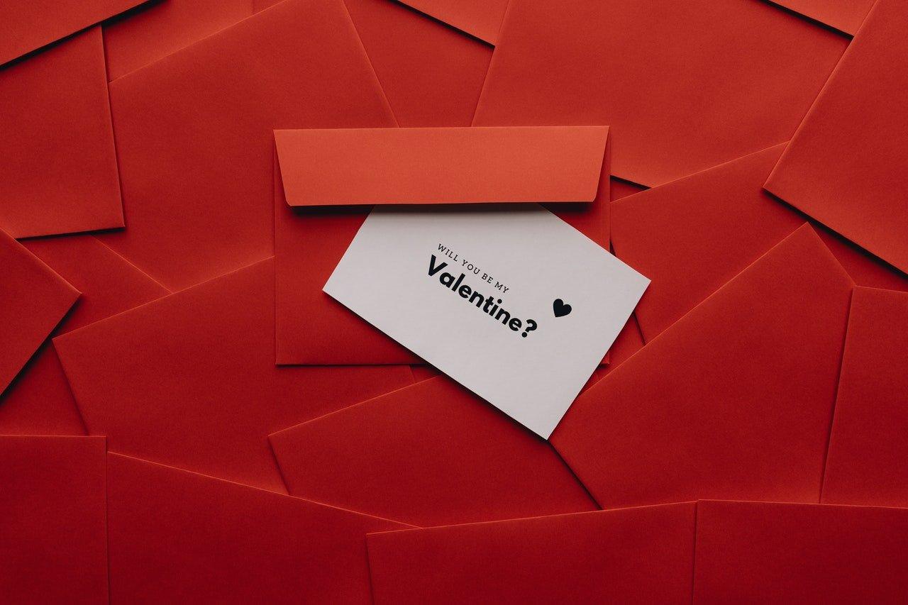 Huwelijksaanzoek met Valentijn