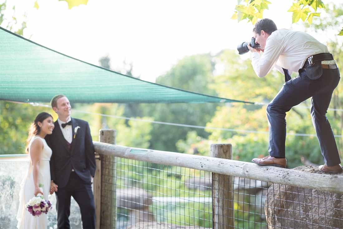 Kiezen van een trouwfotograaf