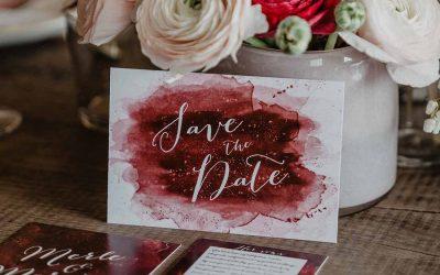 Wat je moet weten over de save the date voor je bruiloft